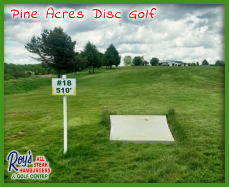 pine acres disc golf